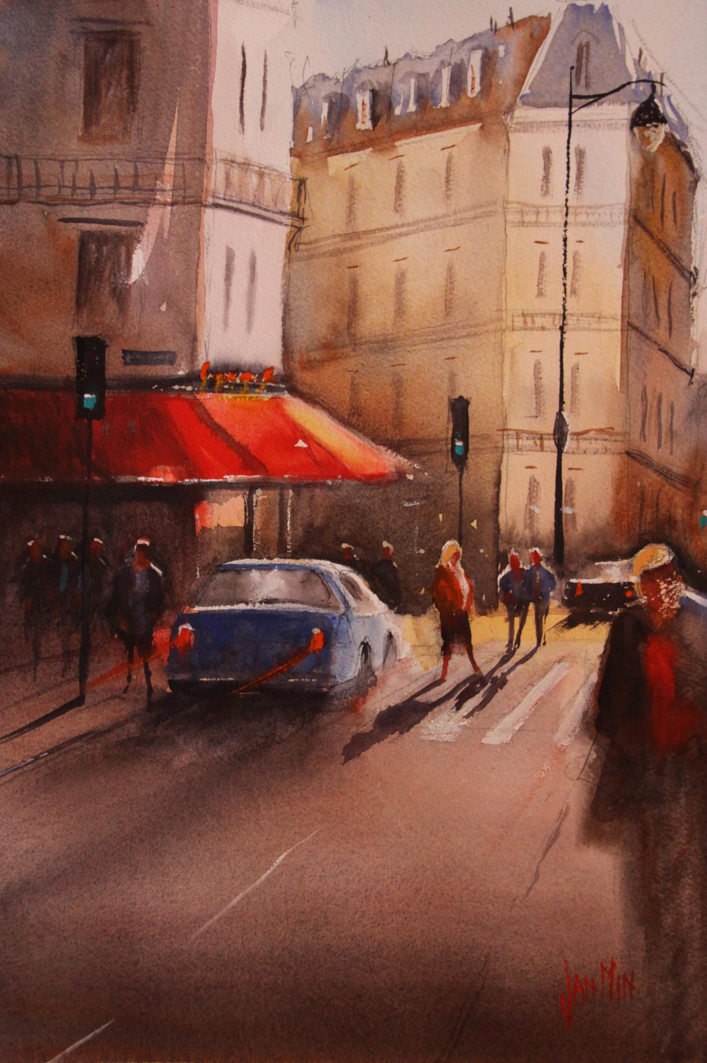 Rue Faubourg ,canon kopie
