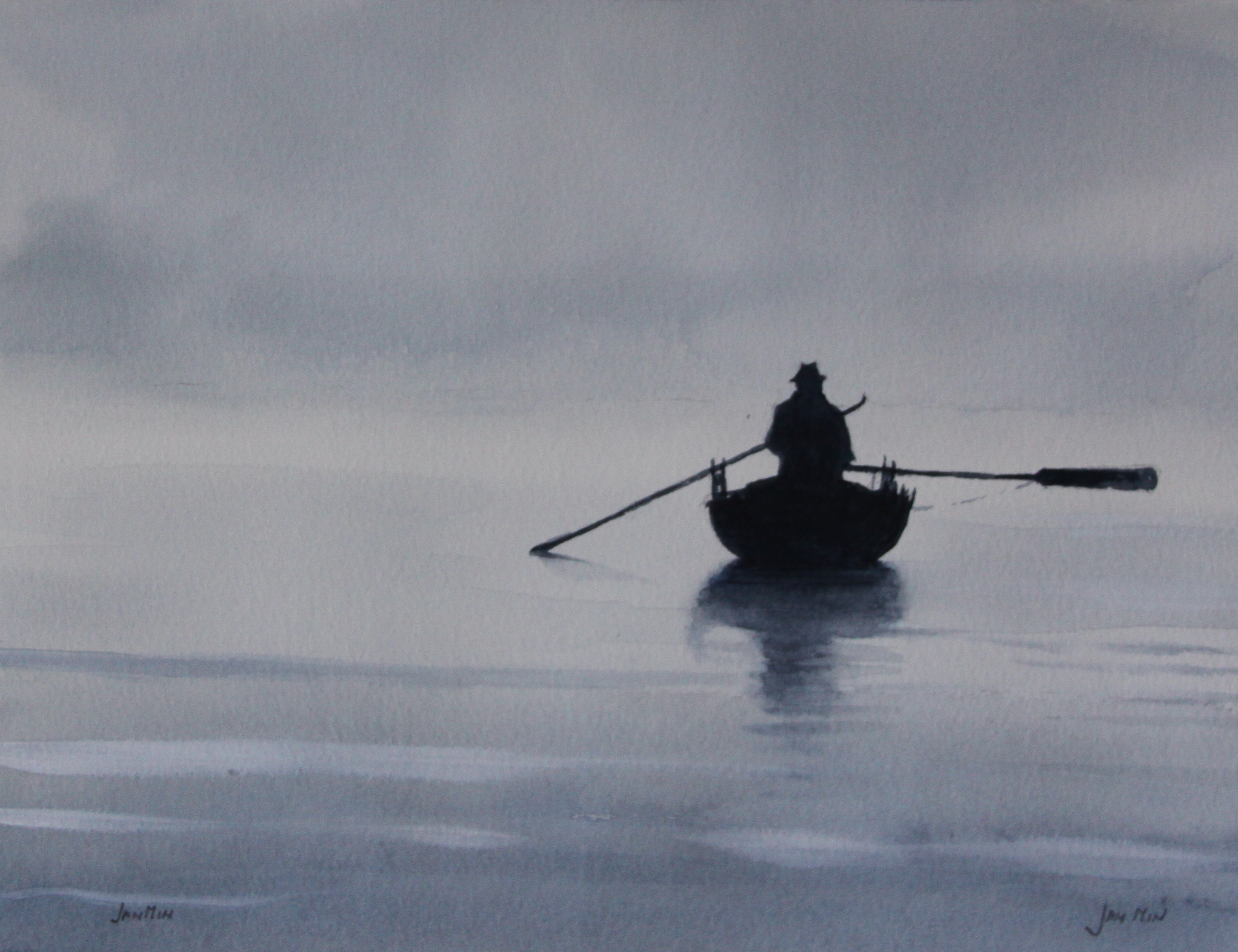 the lonely fisherman