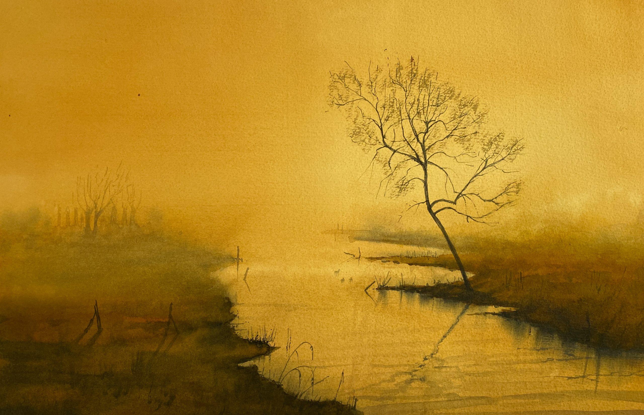 Mystic Dream _ 38 x 56 cm