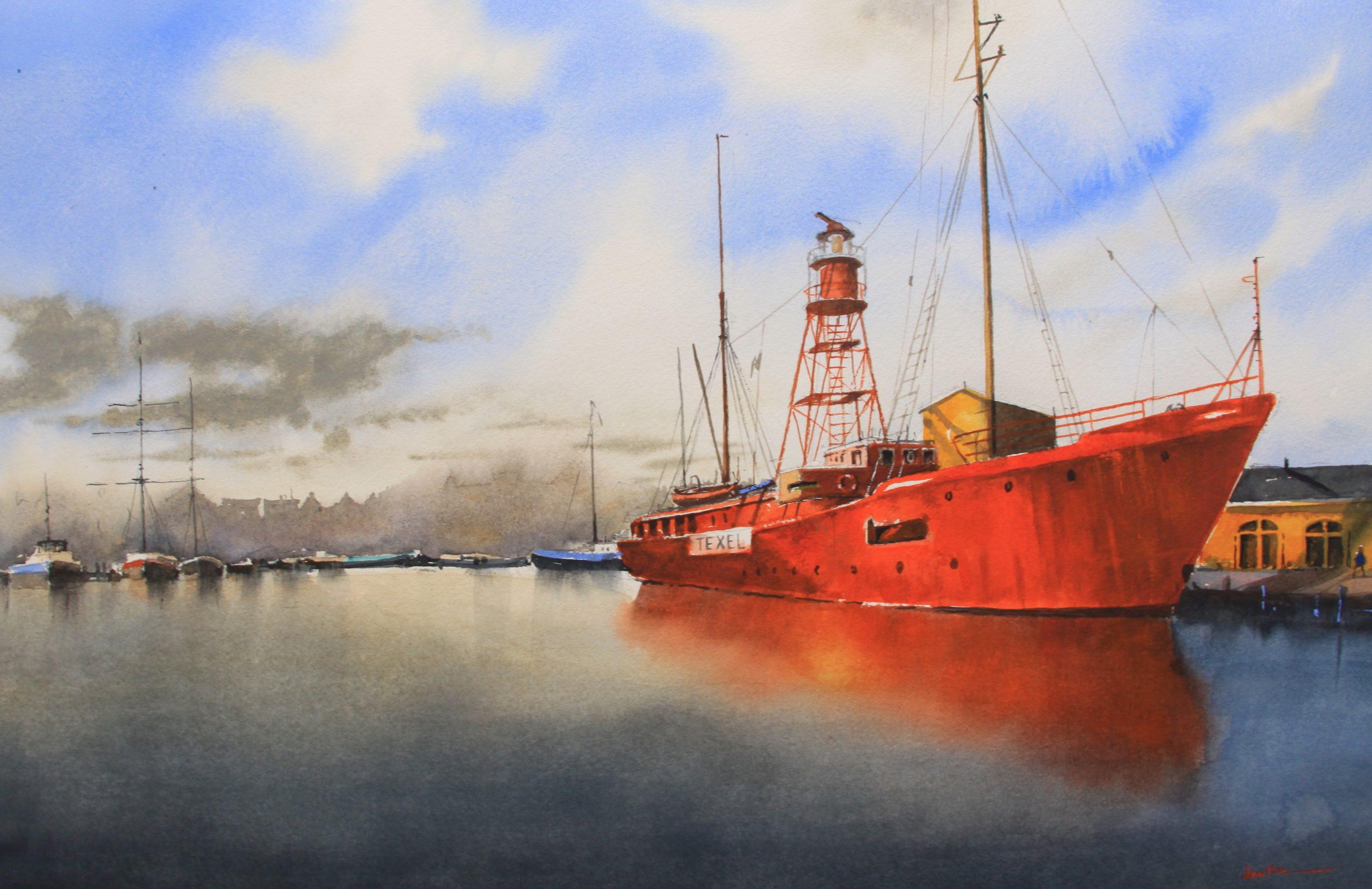 lichtschip Texel